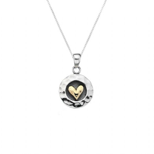 Love Heart Pendant Sterling Silver 925 Hallmarked Necklace All Chain Lengths